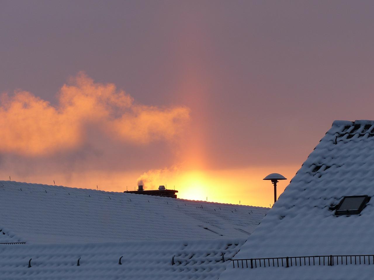 sunbeam, up, morgenstimmung