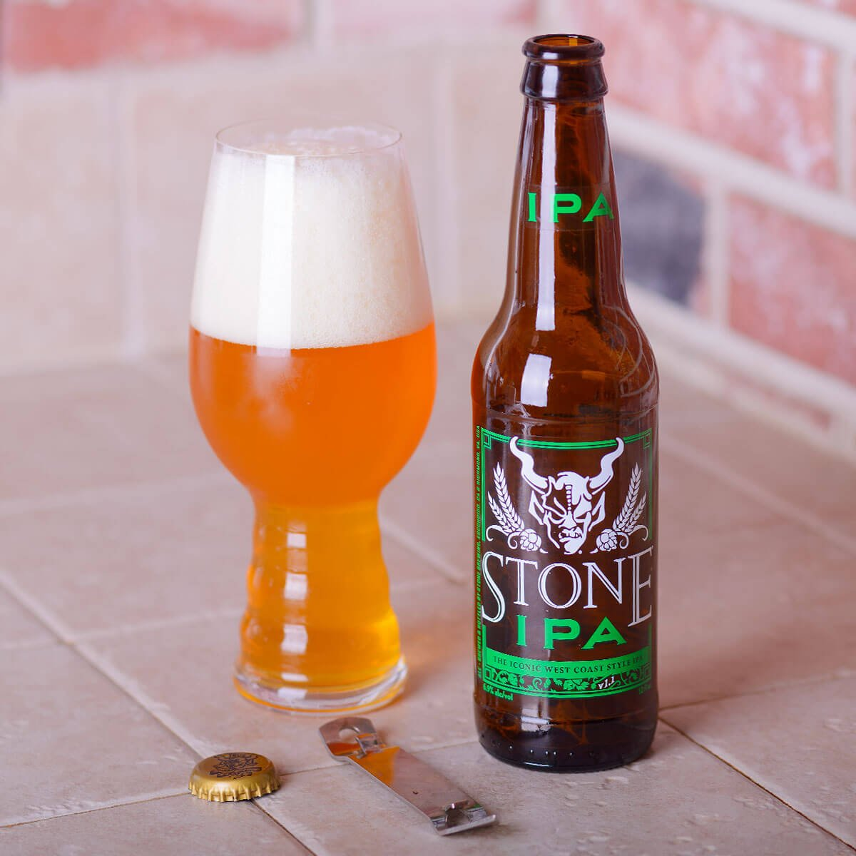 Stone IPA, an American IPA by Stone Brewing
