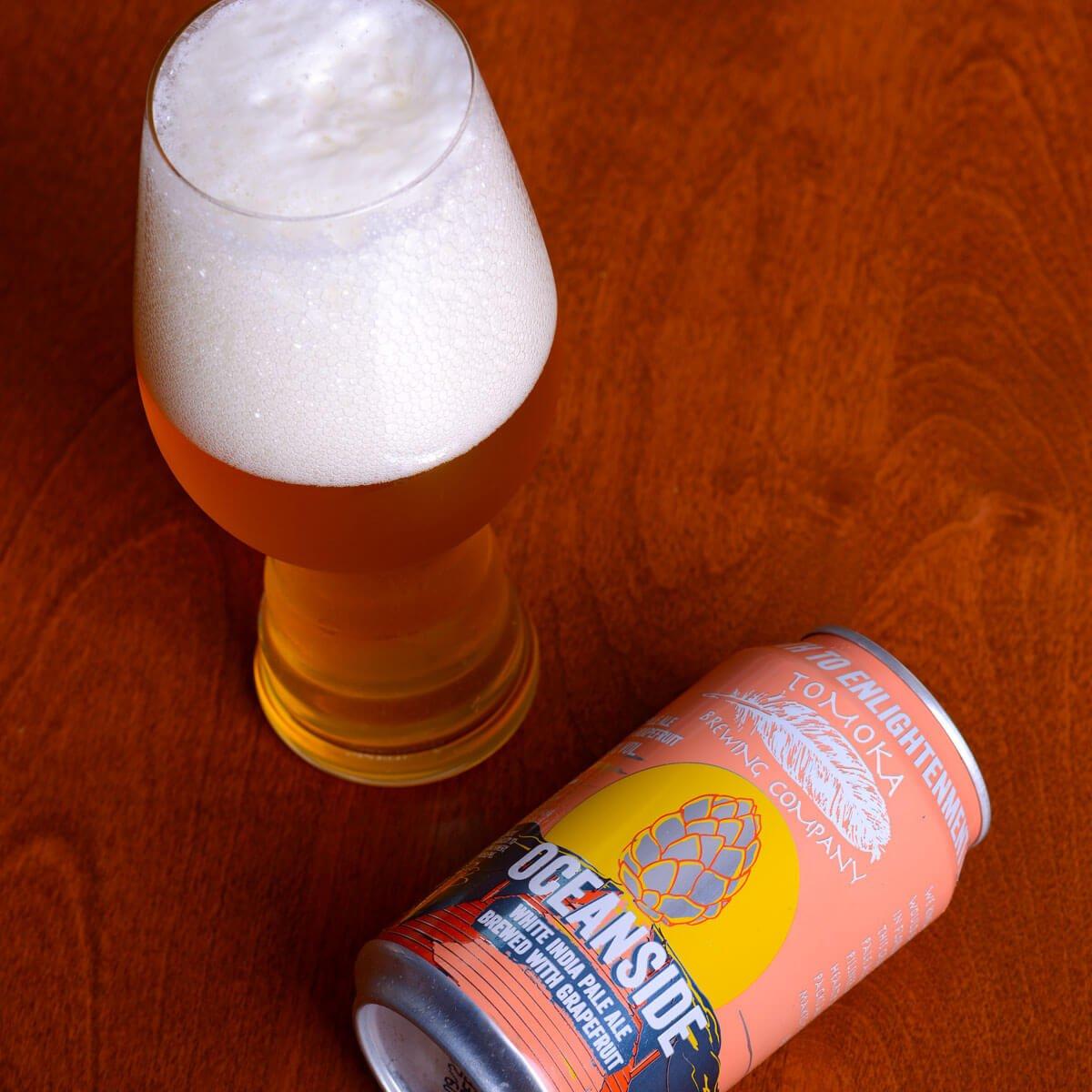 Oceanside White IPA, an American IPA by Tomoka Brewing Company