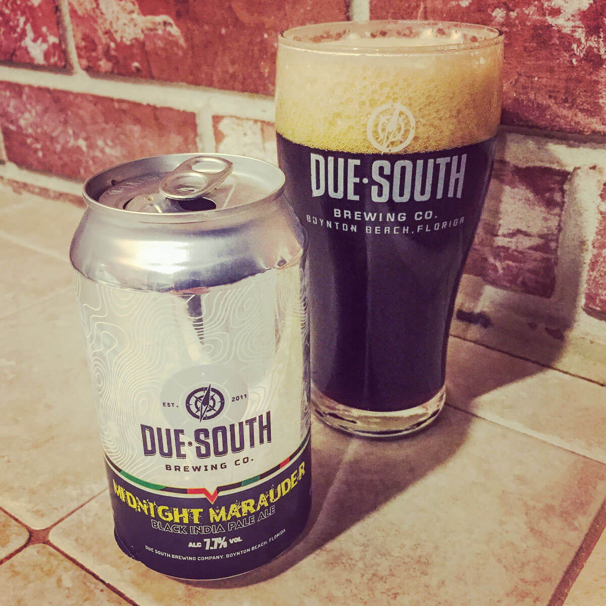 Midnight Marauder, an American Black Ale by Due South Brewing Co.