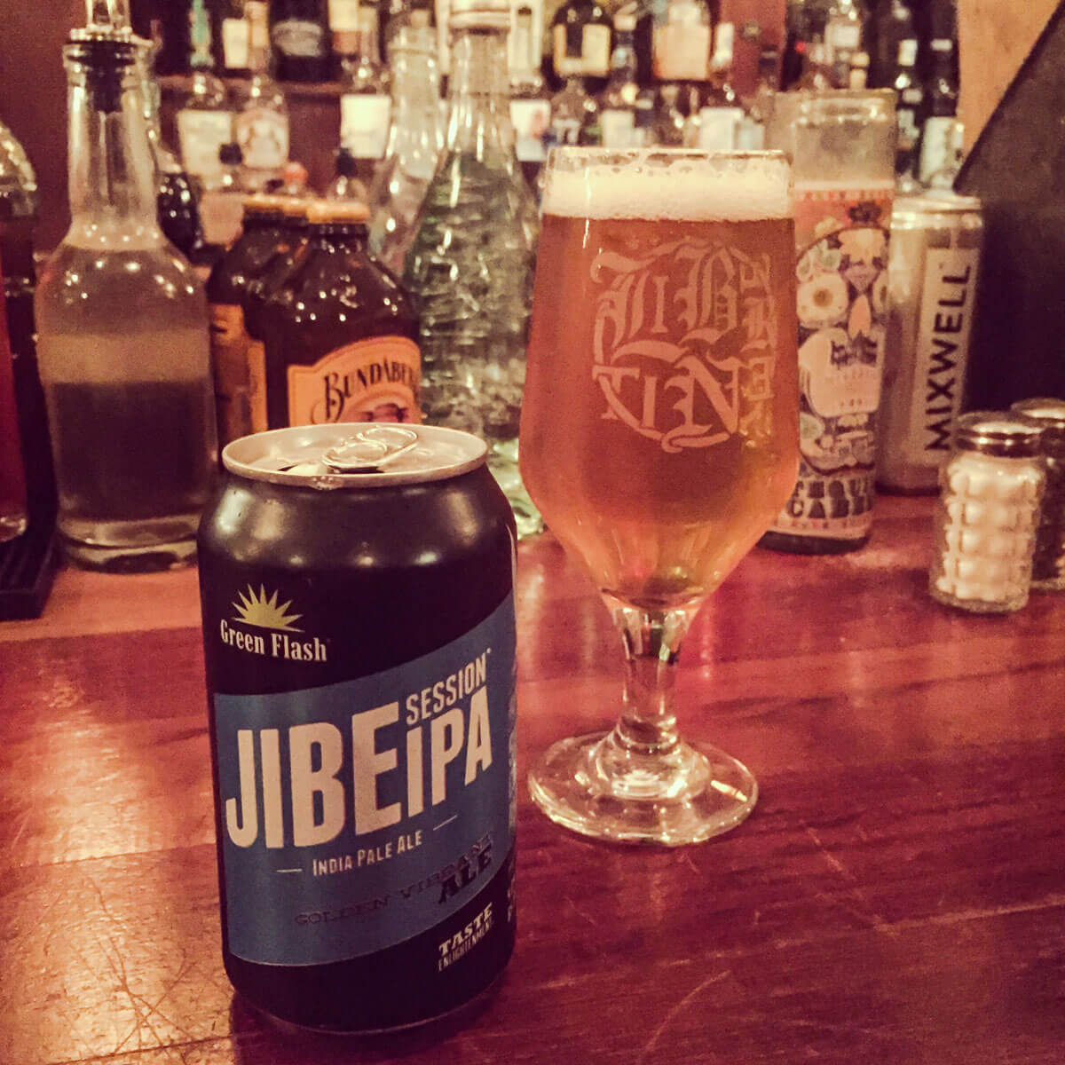 Jibe Session IPA by Green Flash Brewing Co.