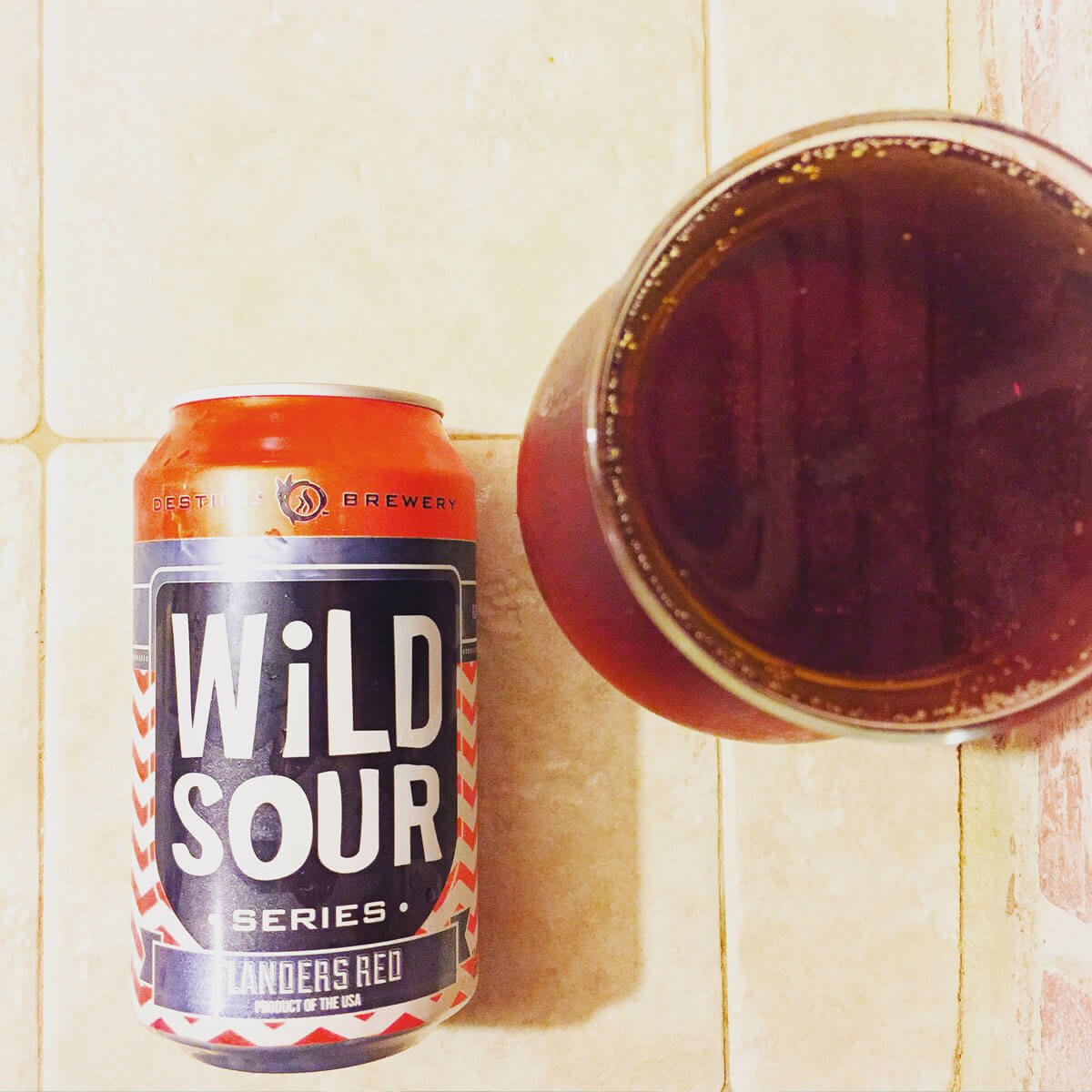 Wild Sour Series Flanders Red Ale is a Belgian-style Flanders Red Ale by DESTIHL Brewery