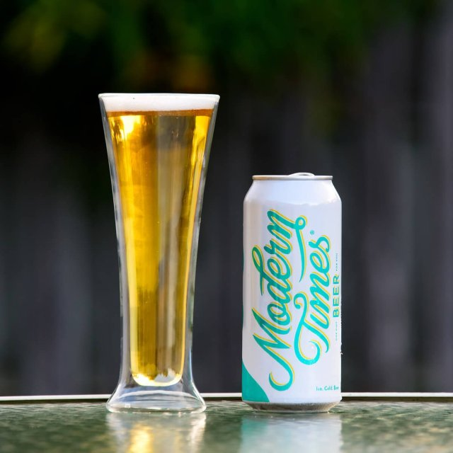 Ice, a Czech-style Pilsener by Modern Times Beer