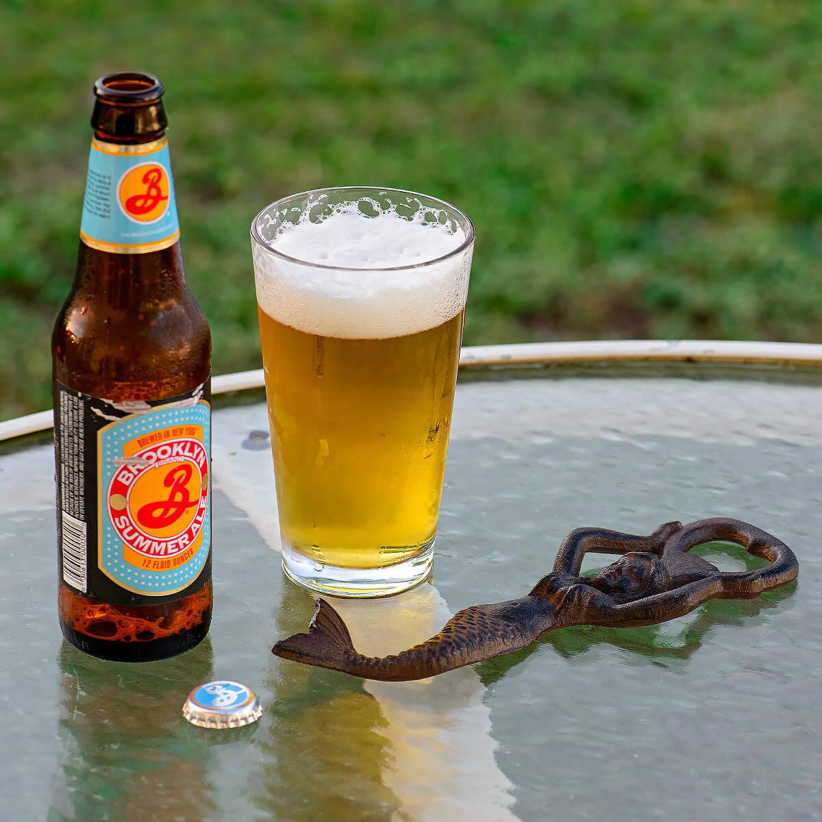 Brooklyn Summer Ale, an English Pale Ale by Brooklyn Brewery
