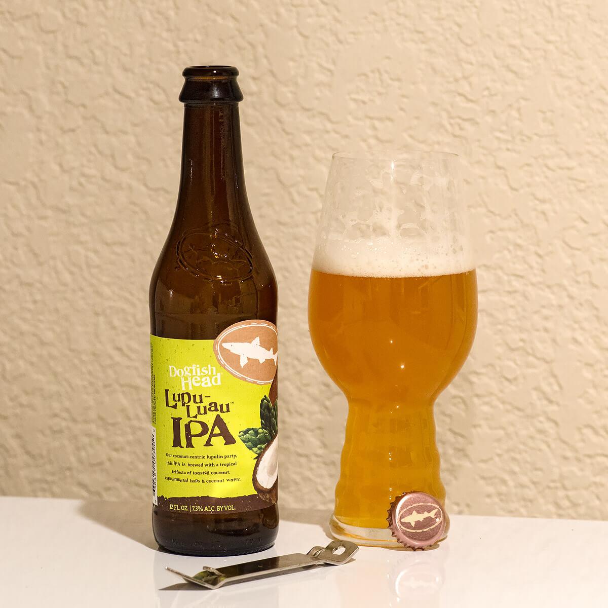 Lupu-Luau American IPA by Dogfish Head Craft Brewery