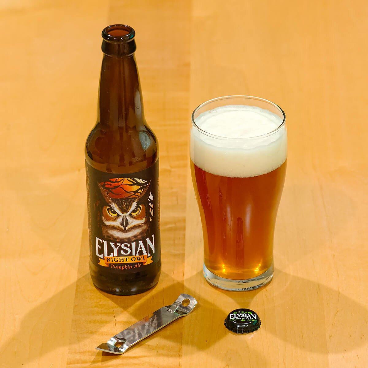 Night Owl Pumpkin Ale by Elysian Brewing Company