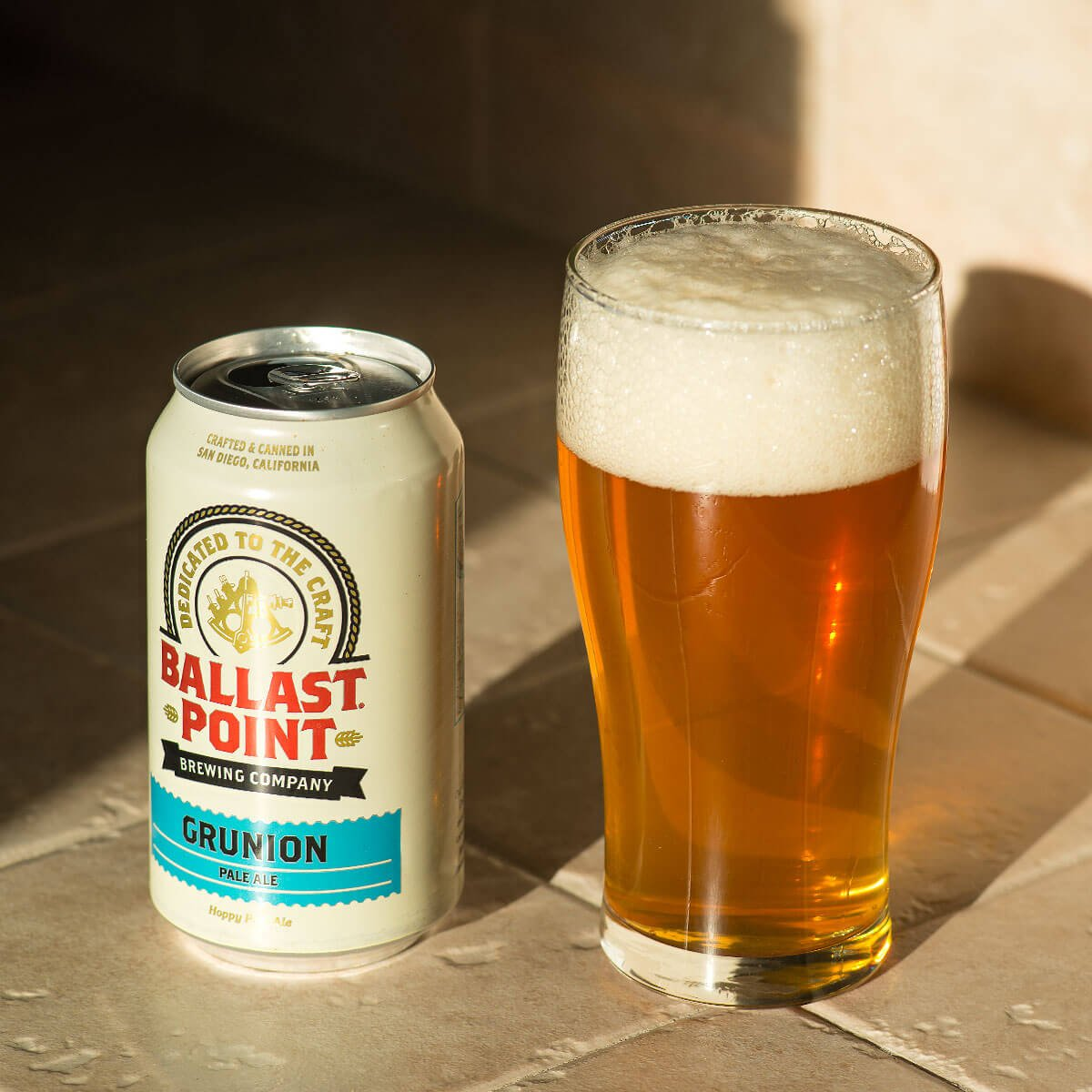 Grunion, an American Pale Ale by Ballast Point Brewing Company
