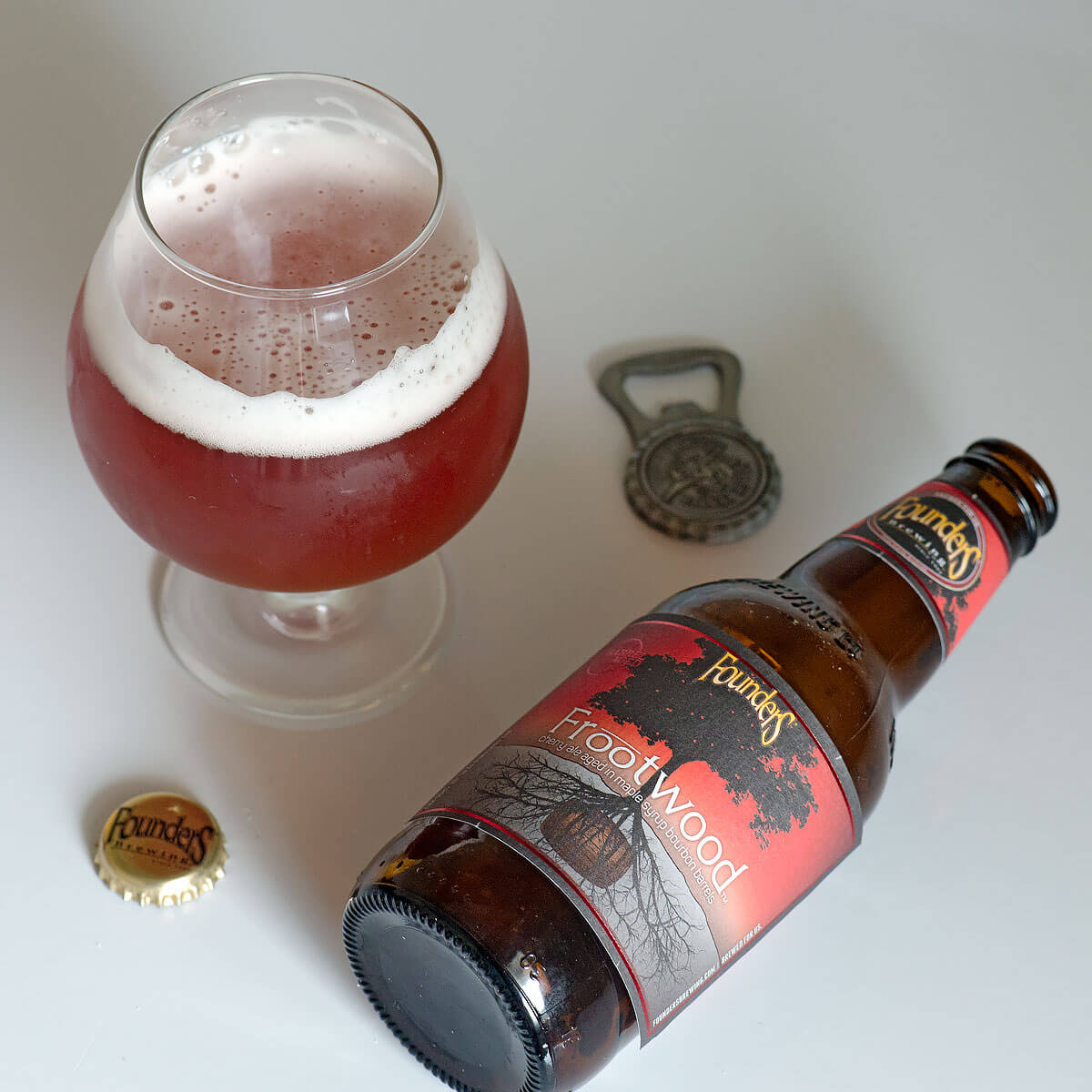 Frootwood, a Fruit Beer by Founders Brewing Co.