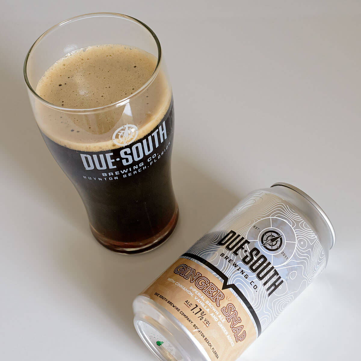 Ginger Snap, an American Brown Ale by Due South Brewing Co.