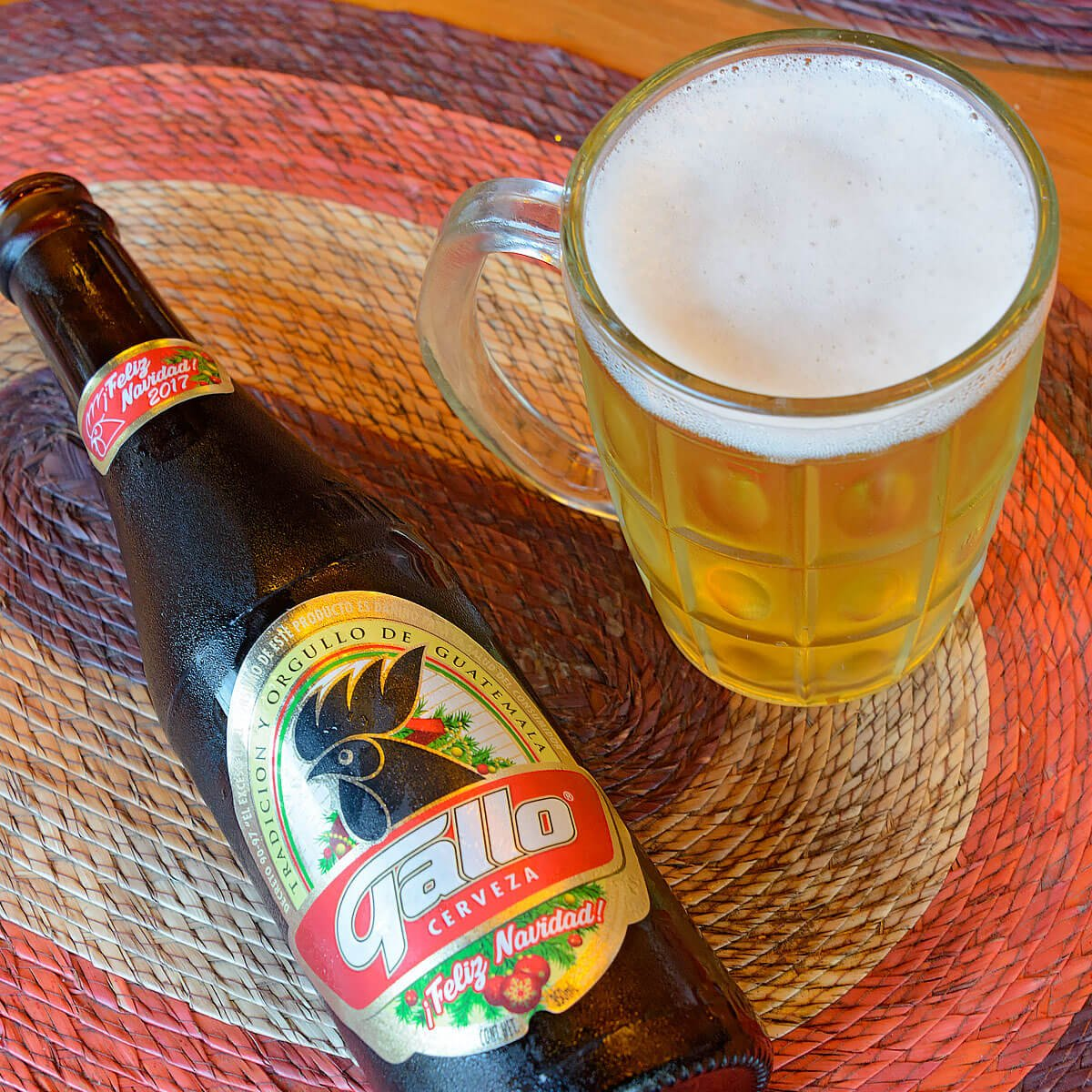 Gallo is a Pale Lager brewed by Cervecería Centro Americana, S.A.