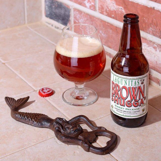 Brown Shugga', an American Strong Ale by Lagunitas Brewing Company