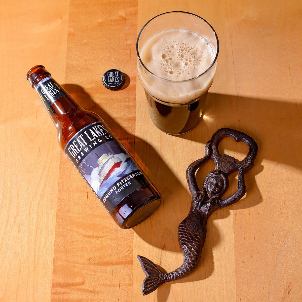 Edmund Fitzgerald Porter, an American Porter by Great Lakes Brewing Co.
