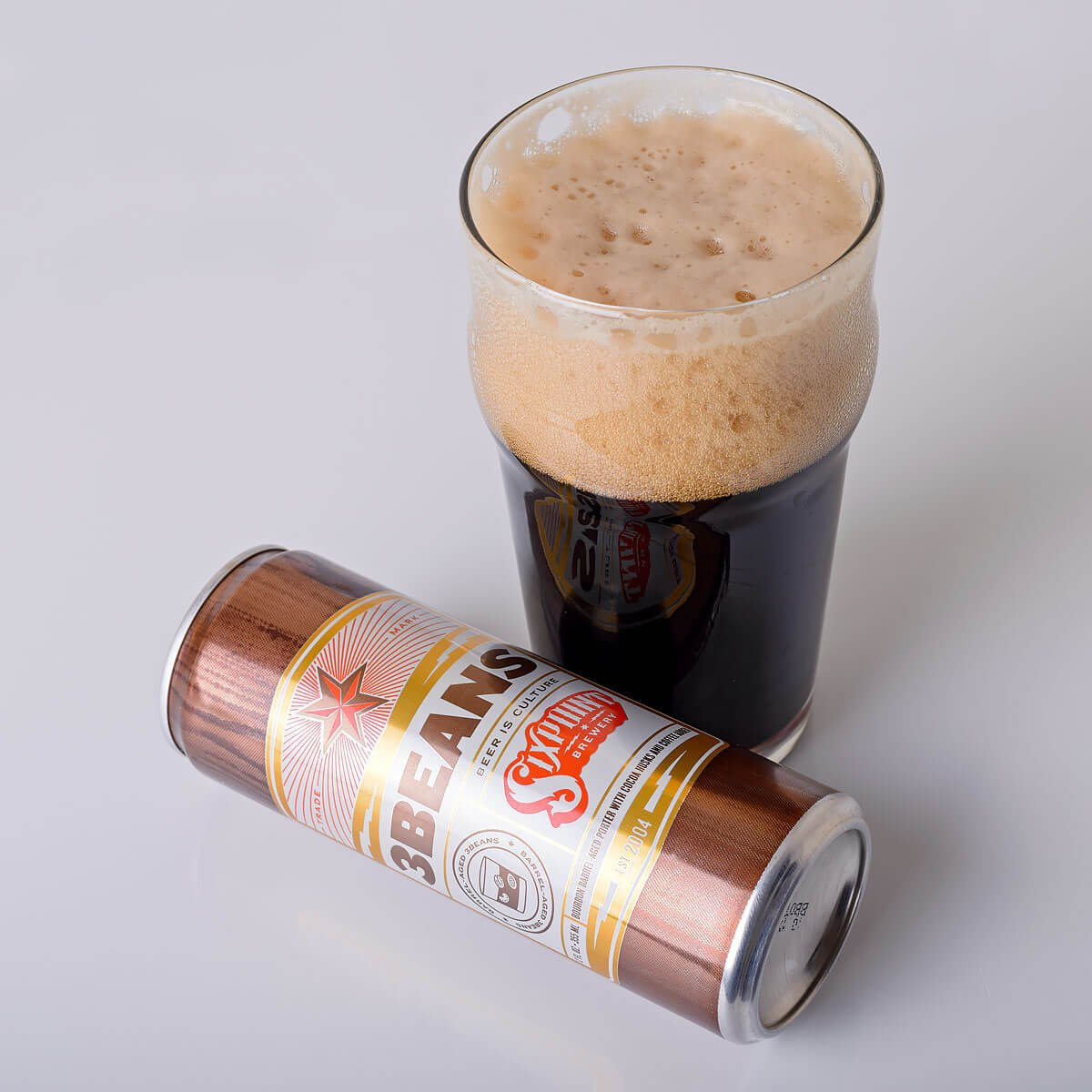 3Beans, a Baltic Porter by Sixpoint Brewery