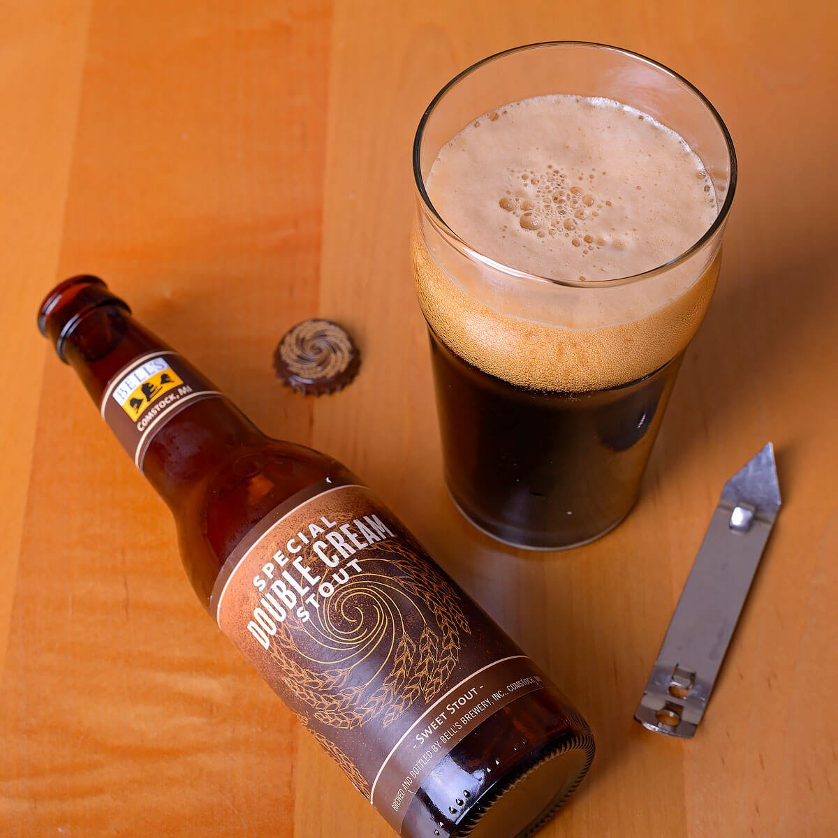 Special Double Cream Stout, an American Stout by Bell's Brewery, Inc.