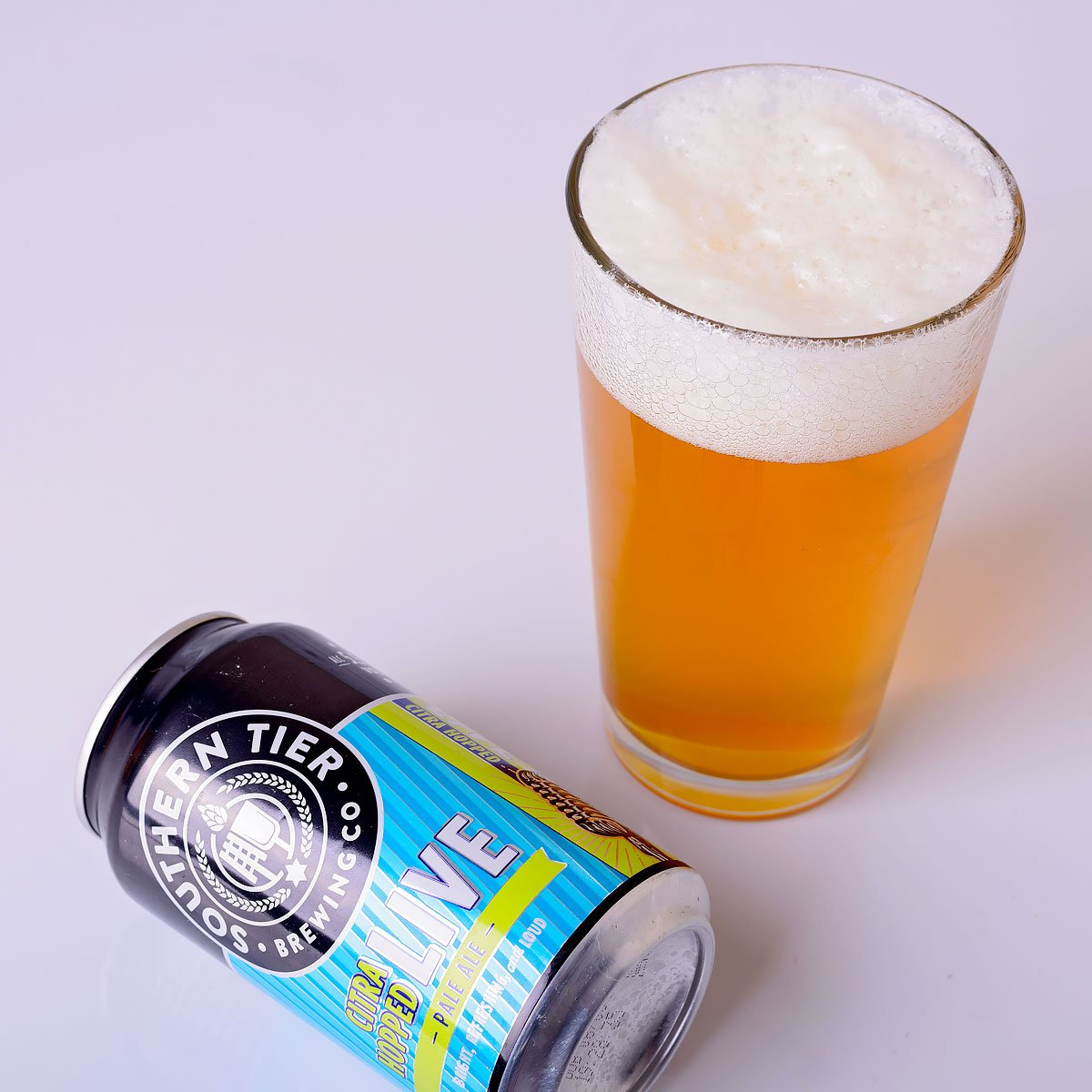 Citra Hopped Live Pale Ale, an American Pale Ale by Southern Tier Brewing Co.