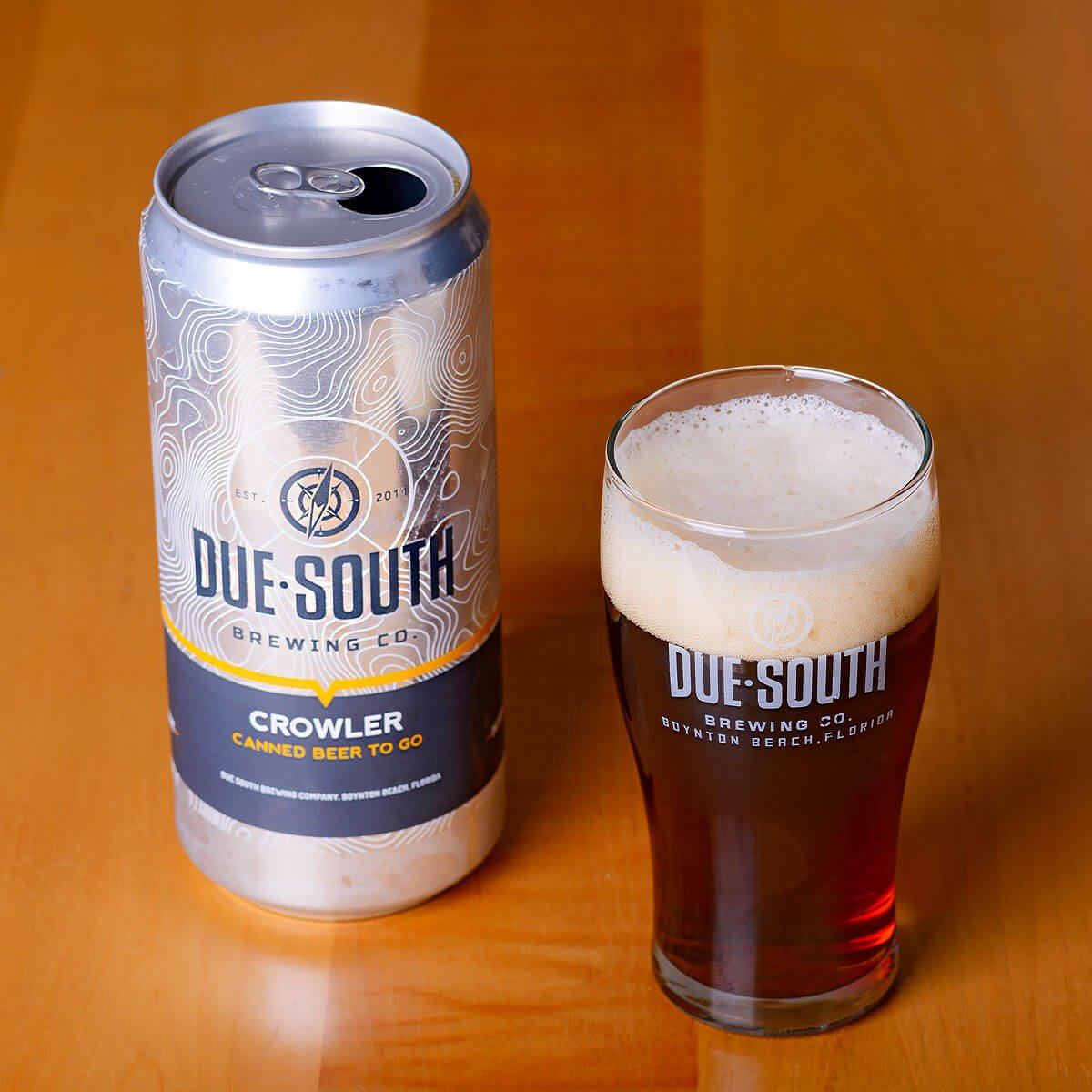Curse Of The Irish Red, an Irish-style Red Ale by Due South Brewing Co.