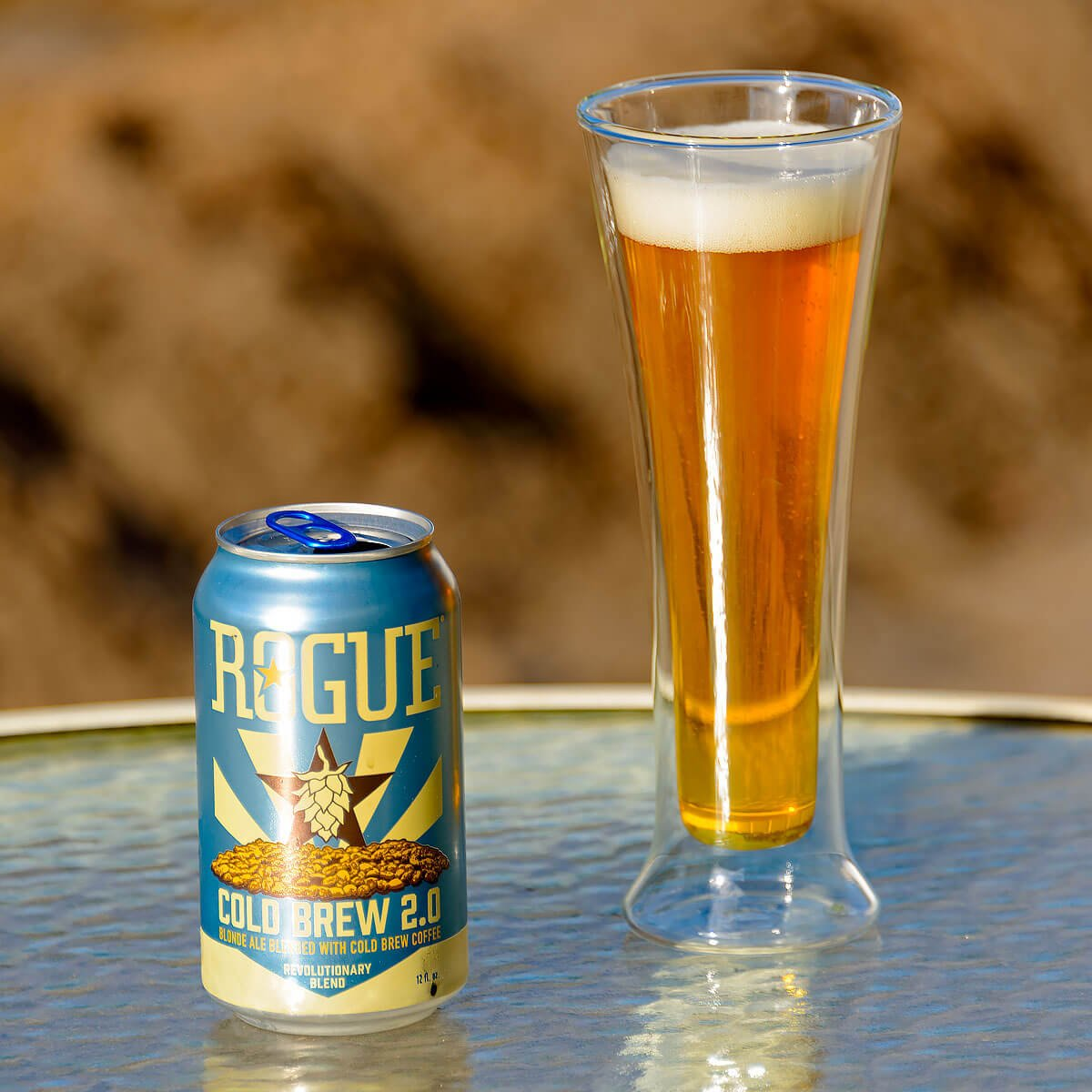 Cold Brew 2.0, an American Blonde Ale brewed by Rogue Ales