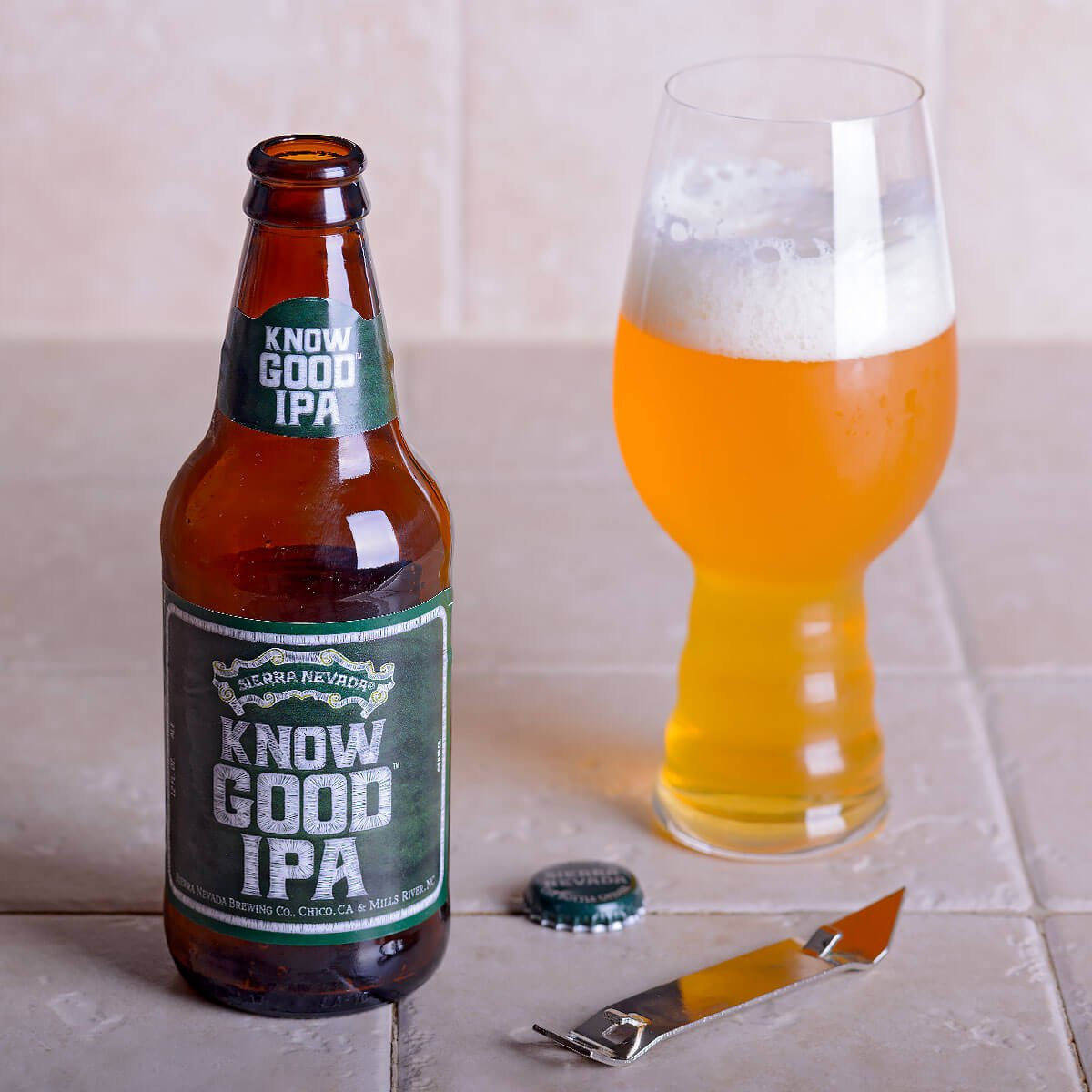 Know Good IPA, an American IPA by Sierra Nevada Brewing Co.