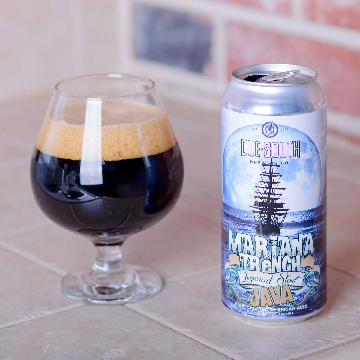 Java Mariana Trench, an American Imperial Stout by Due South Brewing Co.