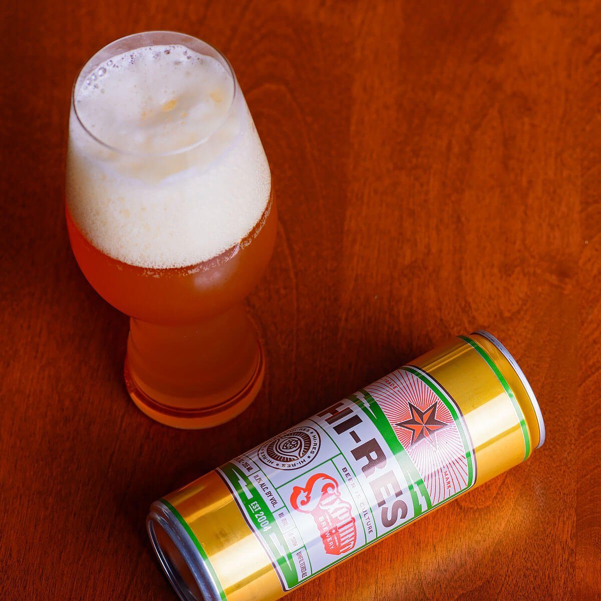 Hi-Res, an American Double IPA by Sixpoint Brewery