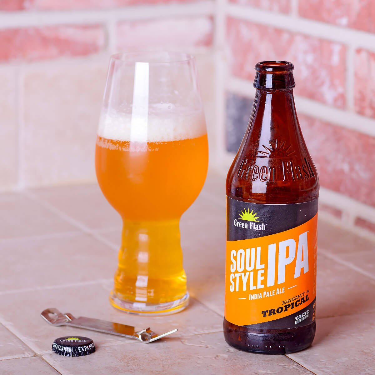 Soul Style IPA, an American IPA by Green Flash Brewing Co.