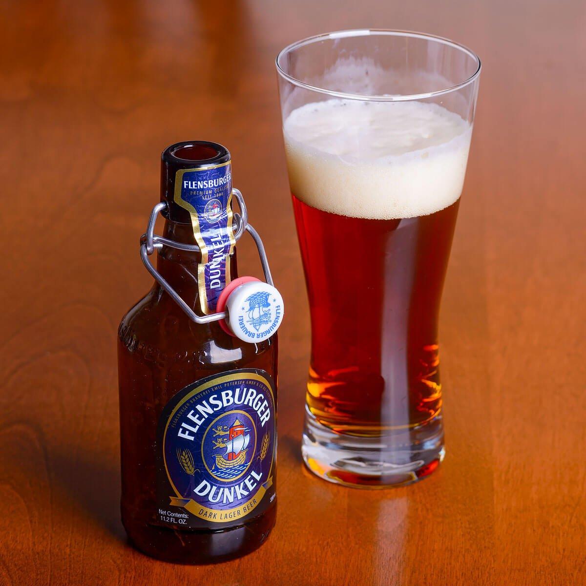 Flensburger Dunkel, a Munich Dunkel brewed by Flensburger Brauerei GmbH Und Co. KG
