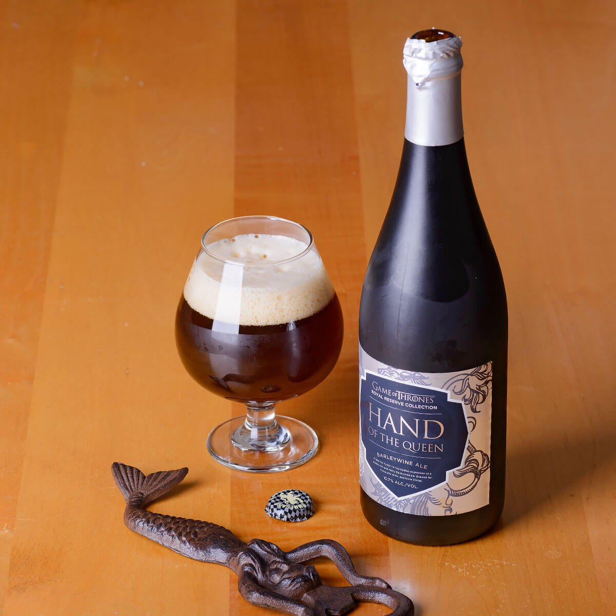 Royal Reserve Collection: Hand Of The Queen, an English-style Barleywine by Brewery Ommegang