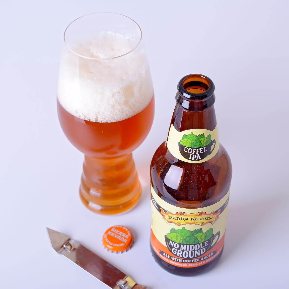 No Middle Ground IPA, an American IPA by Sierra Nevada Brewing Co.