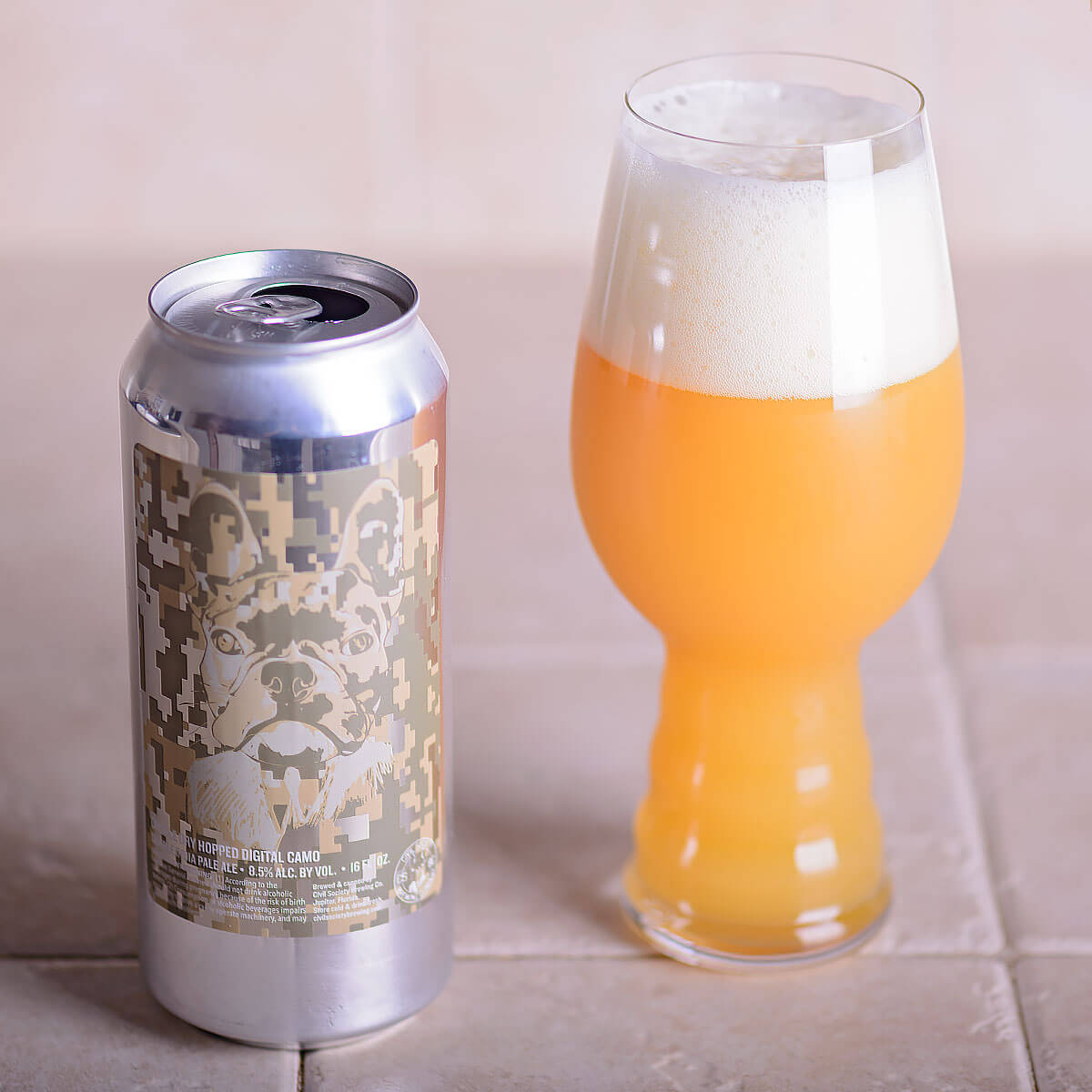 DDH Digital Camo, an American Double IPA by Civil Society Brewing Co.