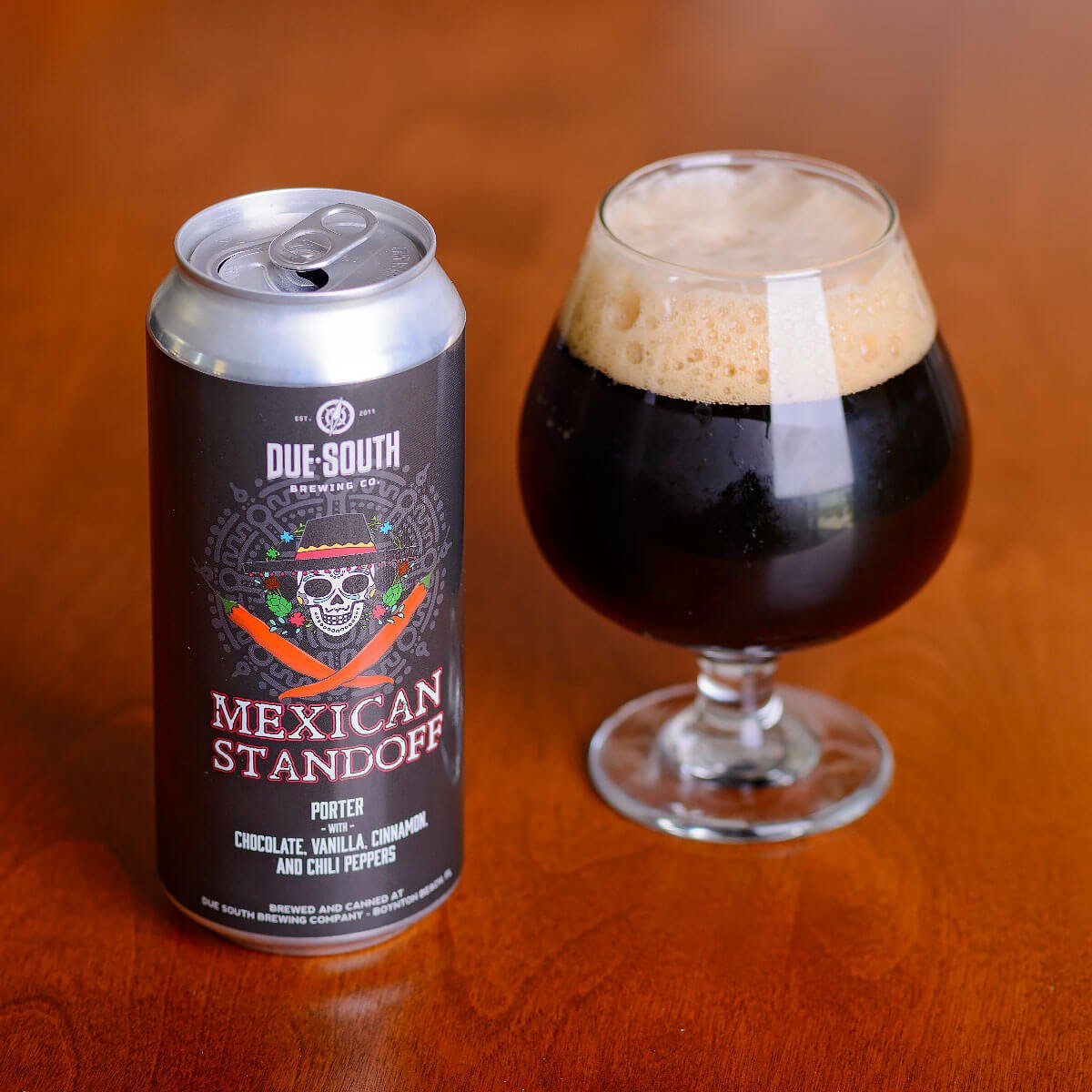 Mexican Standoff, an American Porter by Due South Brewing Co.