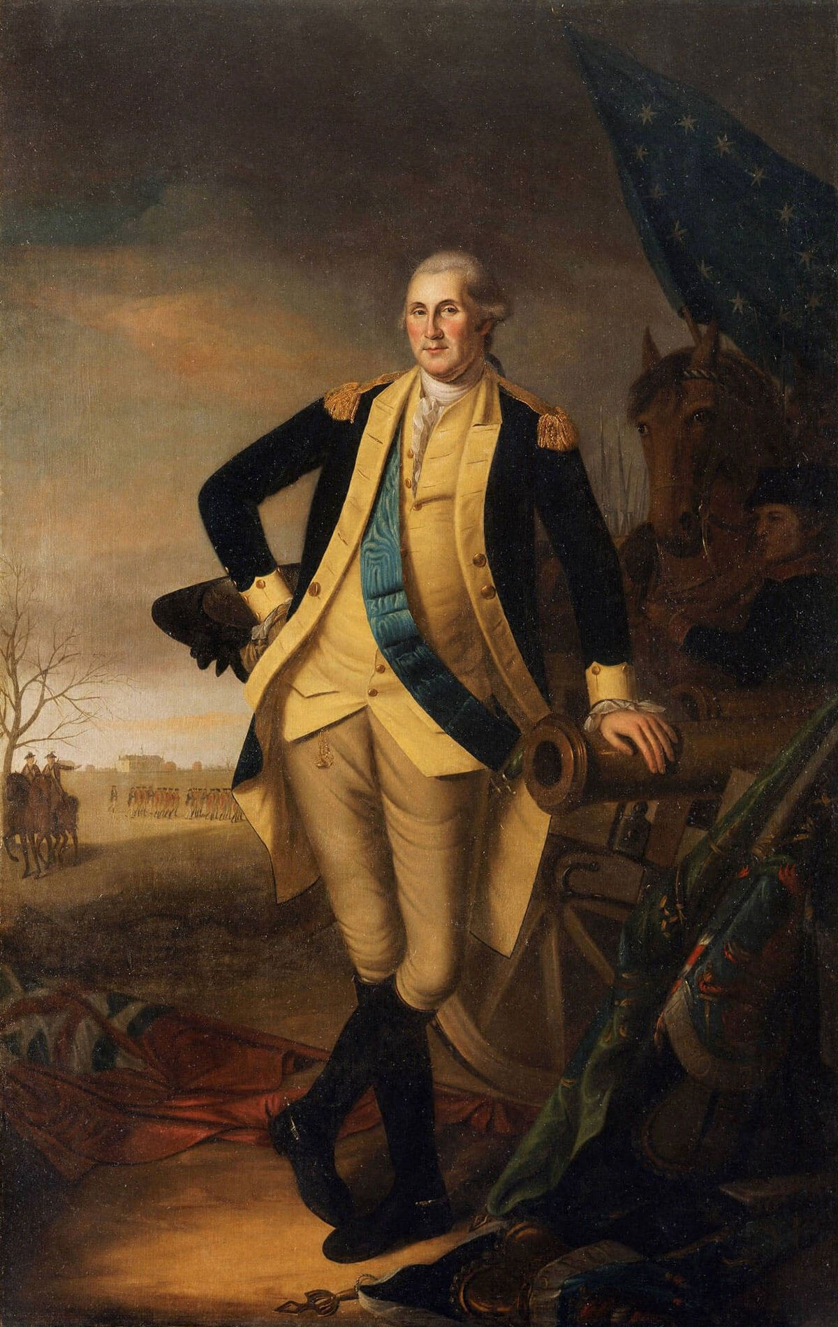George Washington at Princeton, James Peale, 1782, The Metropolitan Museum of Art