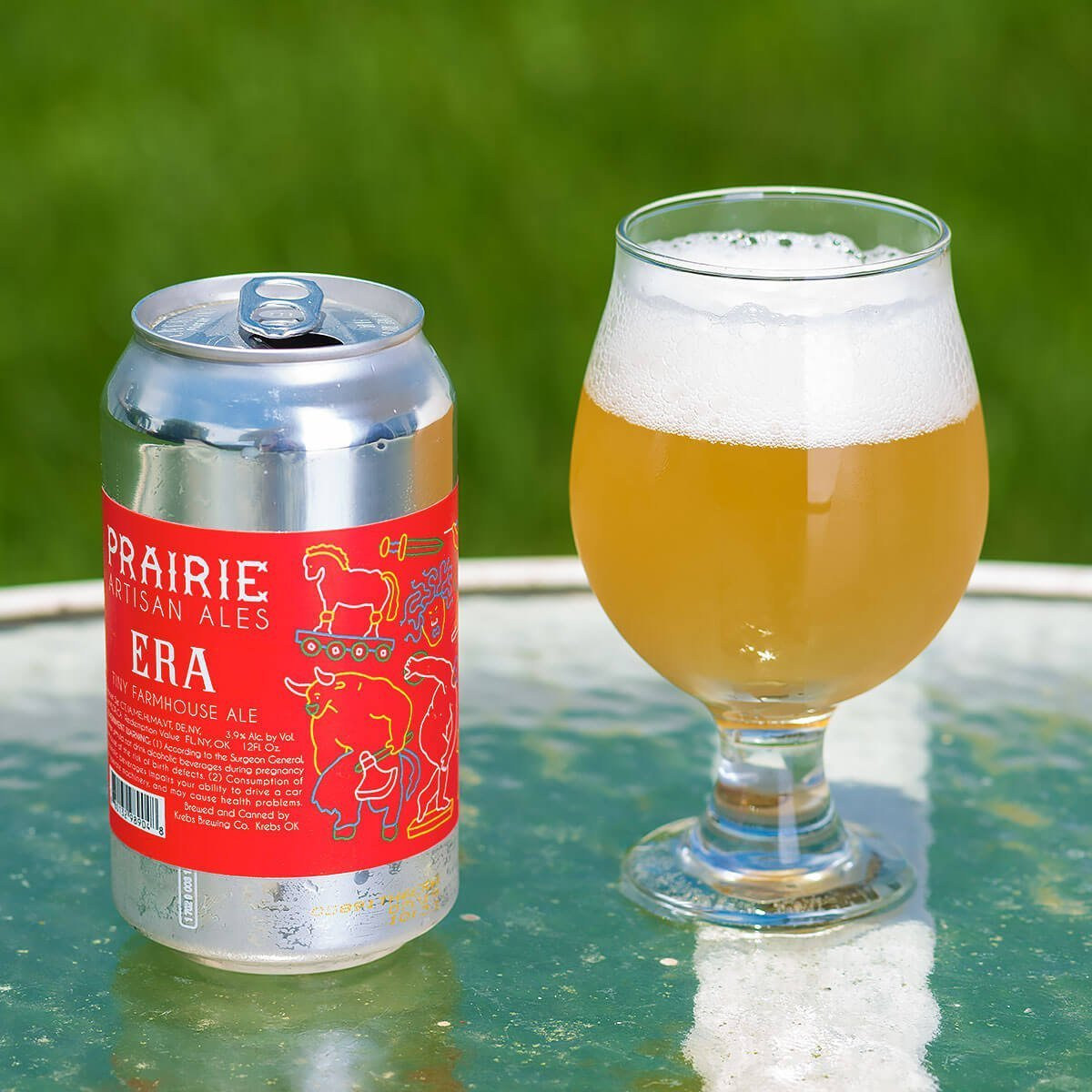 Era Tiny Farmhouse Ale by Prairie Artisan Ales