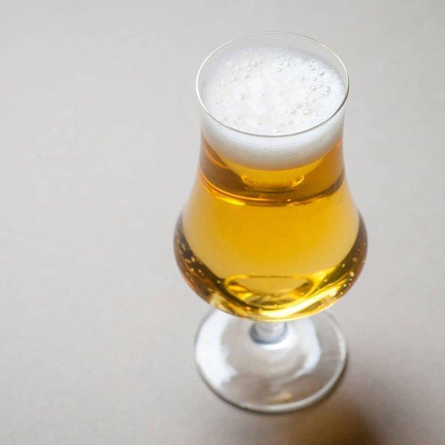 A Belgian Pale Ale in a Tulip Glass