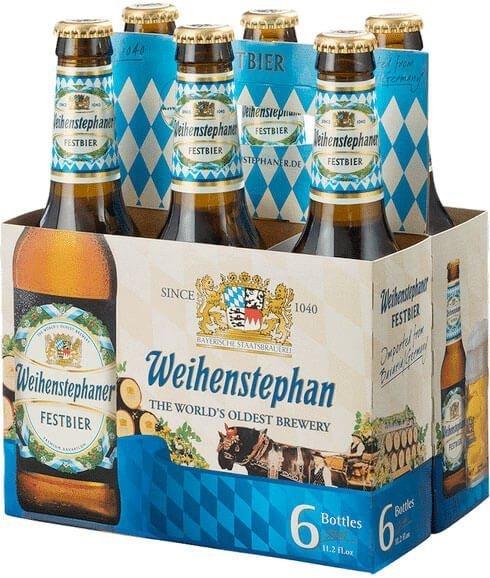 Packaging art for the Weihenstephaner Festbier by Bayerische Staatsbrauerei Weihenstephan