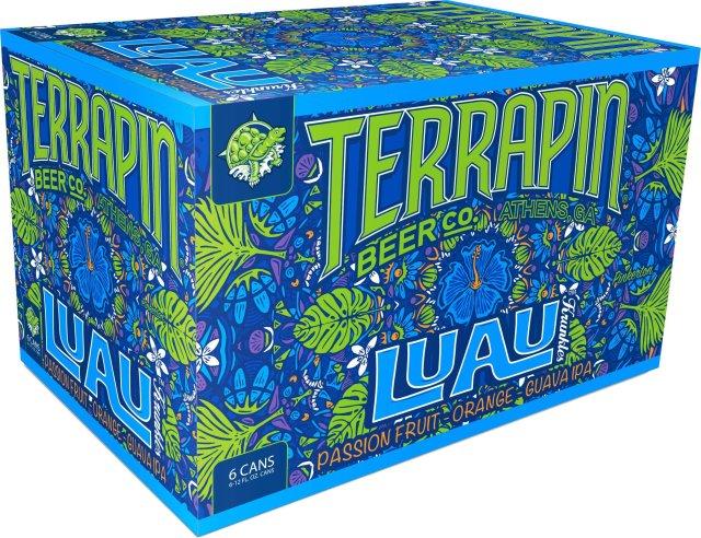 Packaging art for the Luau Krunkles by Terrapin Beer Co.