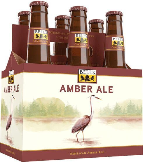 Packaging art for the Bell's Amber Ale by Bell's Brewery, Inc.