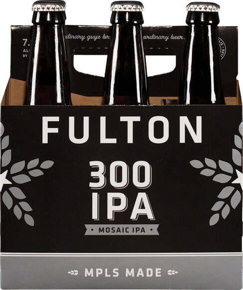 Packaging art for the 300 by Fulton Beer