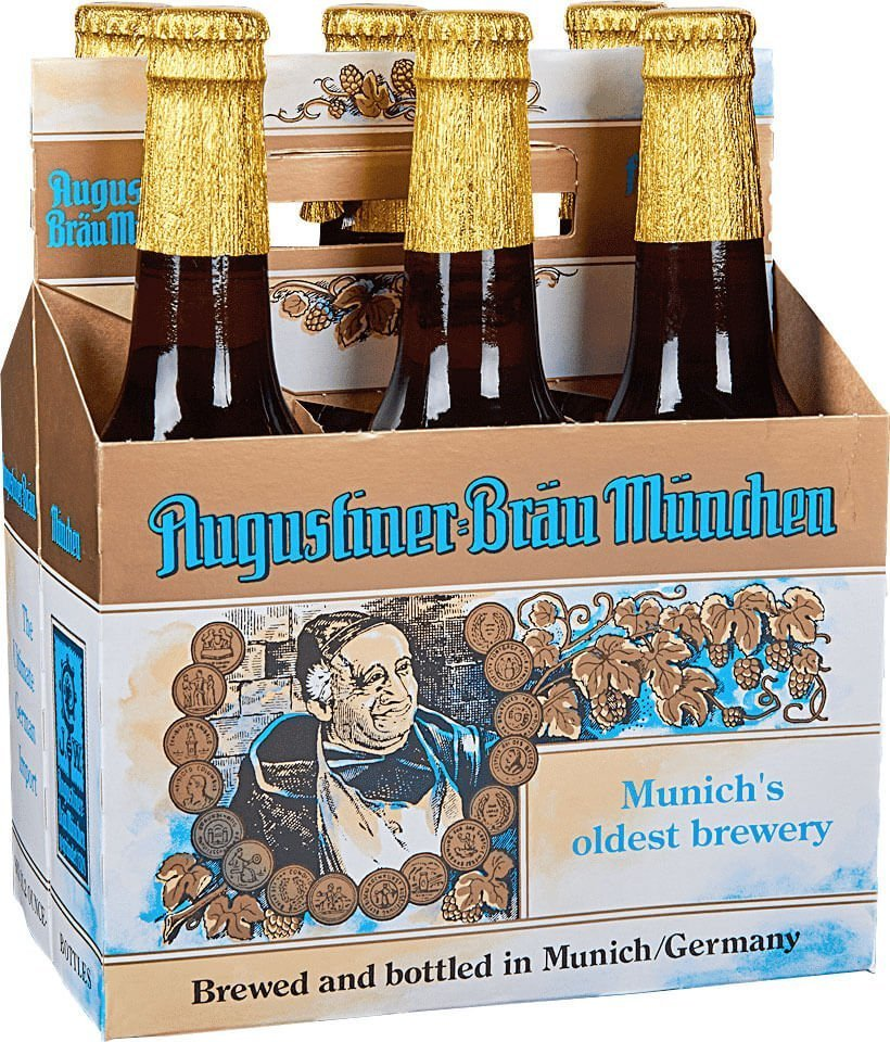 Packaging art for the Augustiner Bräu Maximator by Augustiner-Bräu Wagner KG