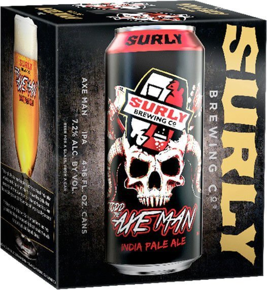 Packaging art for the Todd The Axe Man by Surly Brewing Co.