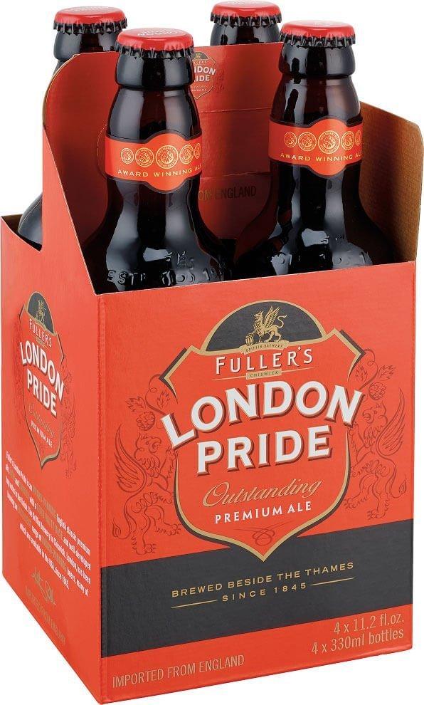 Packaging art for the Fuller's London Pride by Fuller Smith & Turner PLC