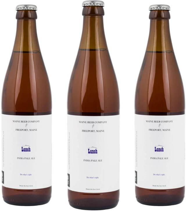 Packaging art for the Lunch by Maine Beer Company