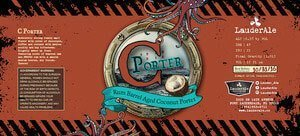 Label art for the C Porter by LauderAle
