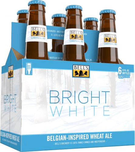 Packaging art for the Bright White Ale by Bell's Brewery, Inc.