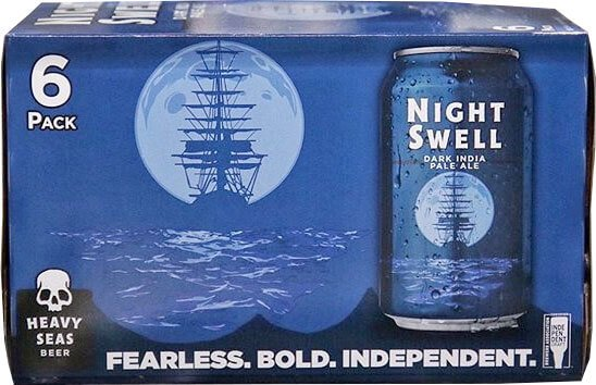Packaging art for the Night Swell by Heavy Seas Beer
