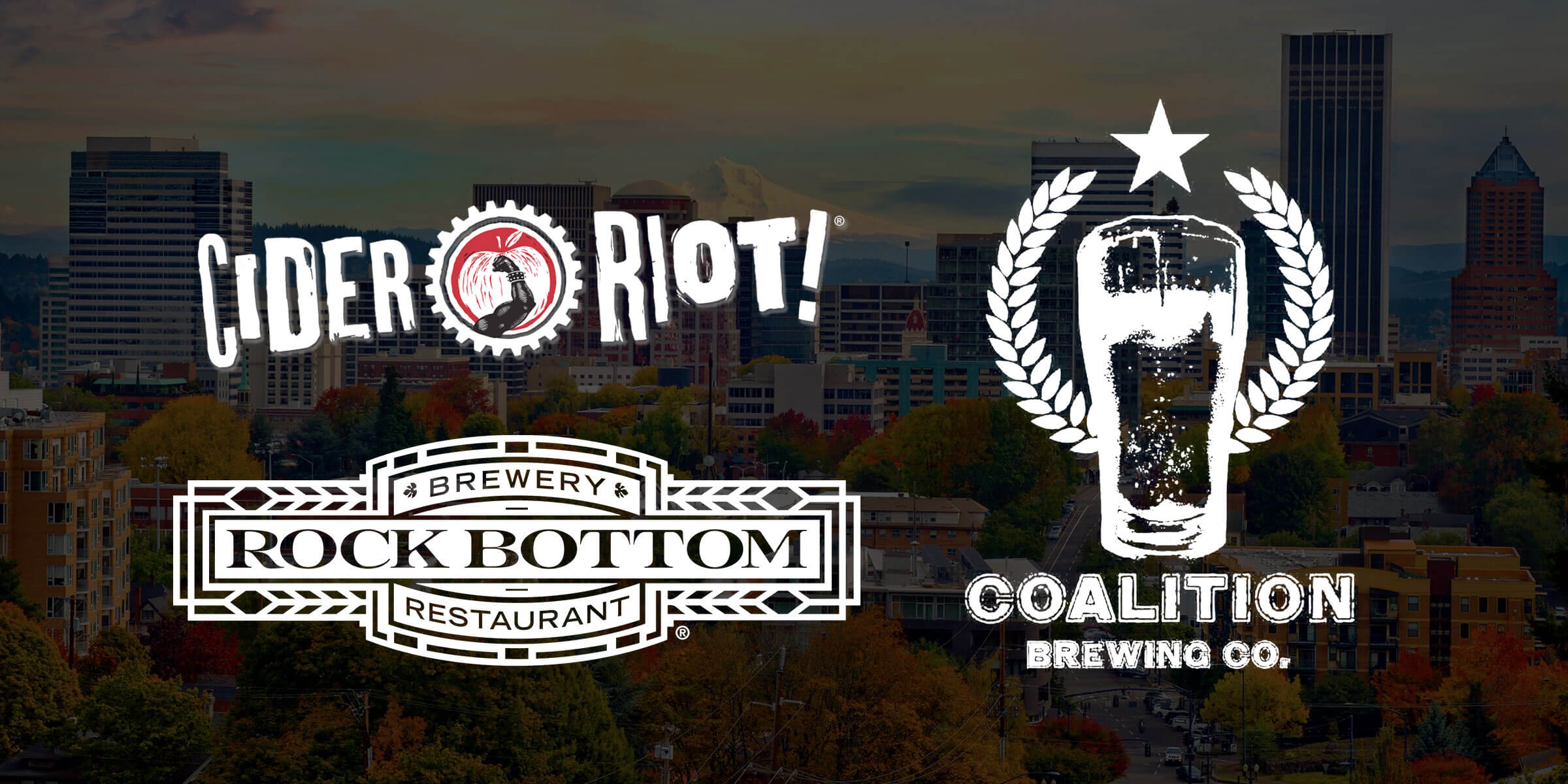 Portland, Oregon's brewery closures continued as Cider Riot, Rock Bottom Restaurant and Brewery, and Coalition Brewing announced plans to close in the city.