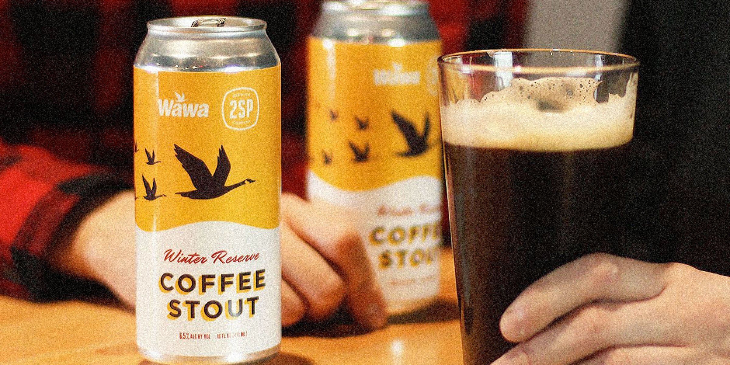 Wawa, in partnership with 2SP Brewing, announced the return of 2018's collaboration, Winter Reserve Coffee Stout and three other holiday brews as well.