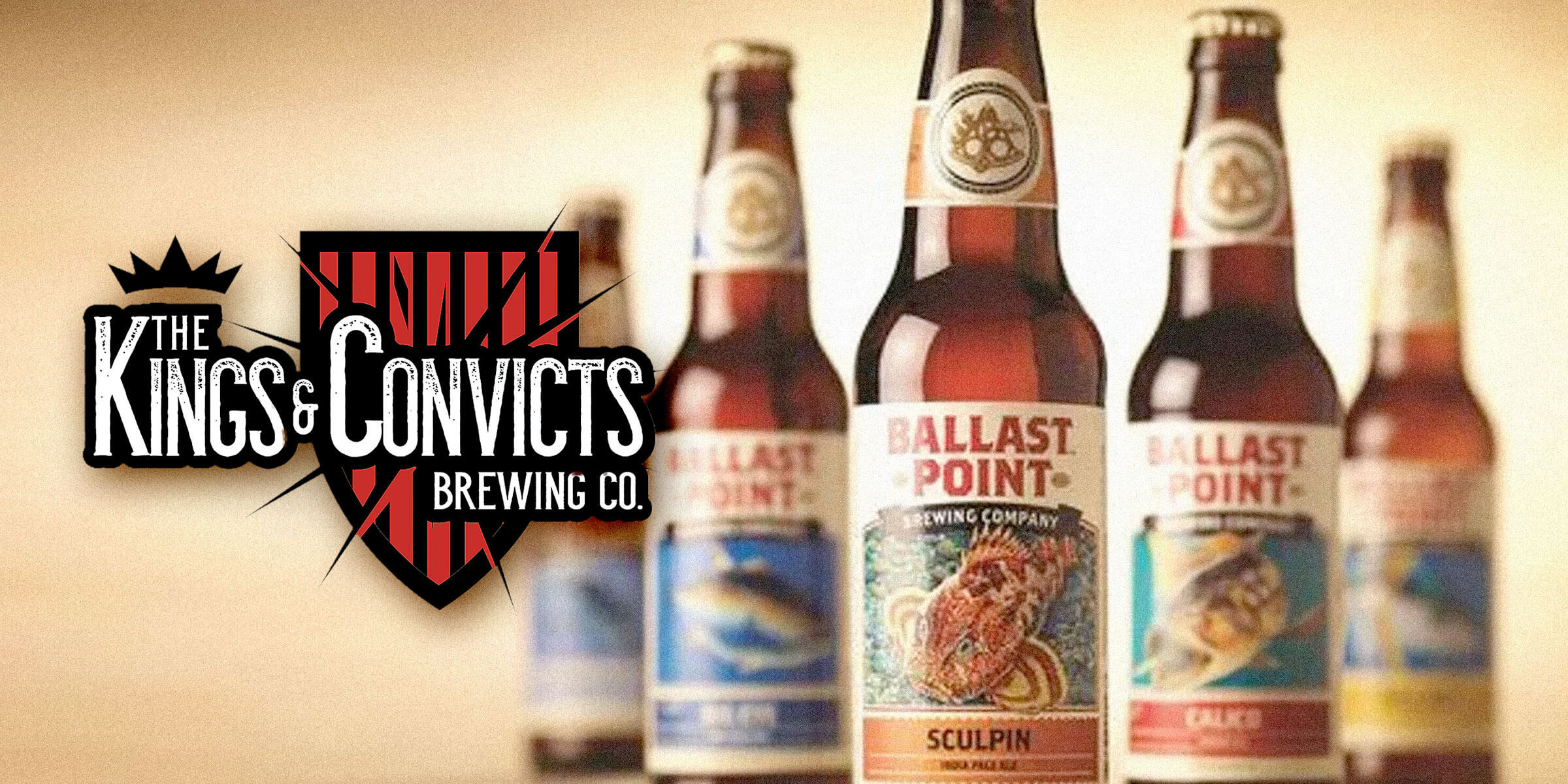 Chicagoland-based Kings & Convicts Brewing Co. acquired U.S. brewing giant Ballast Point Brewing Company from Constellation Brands