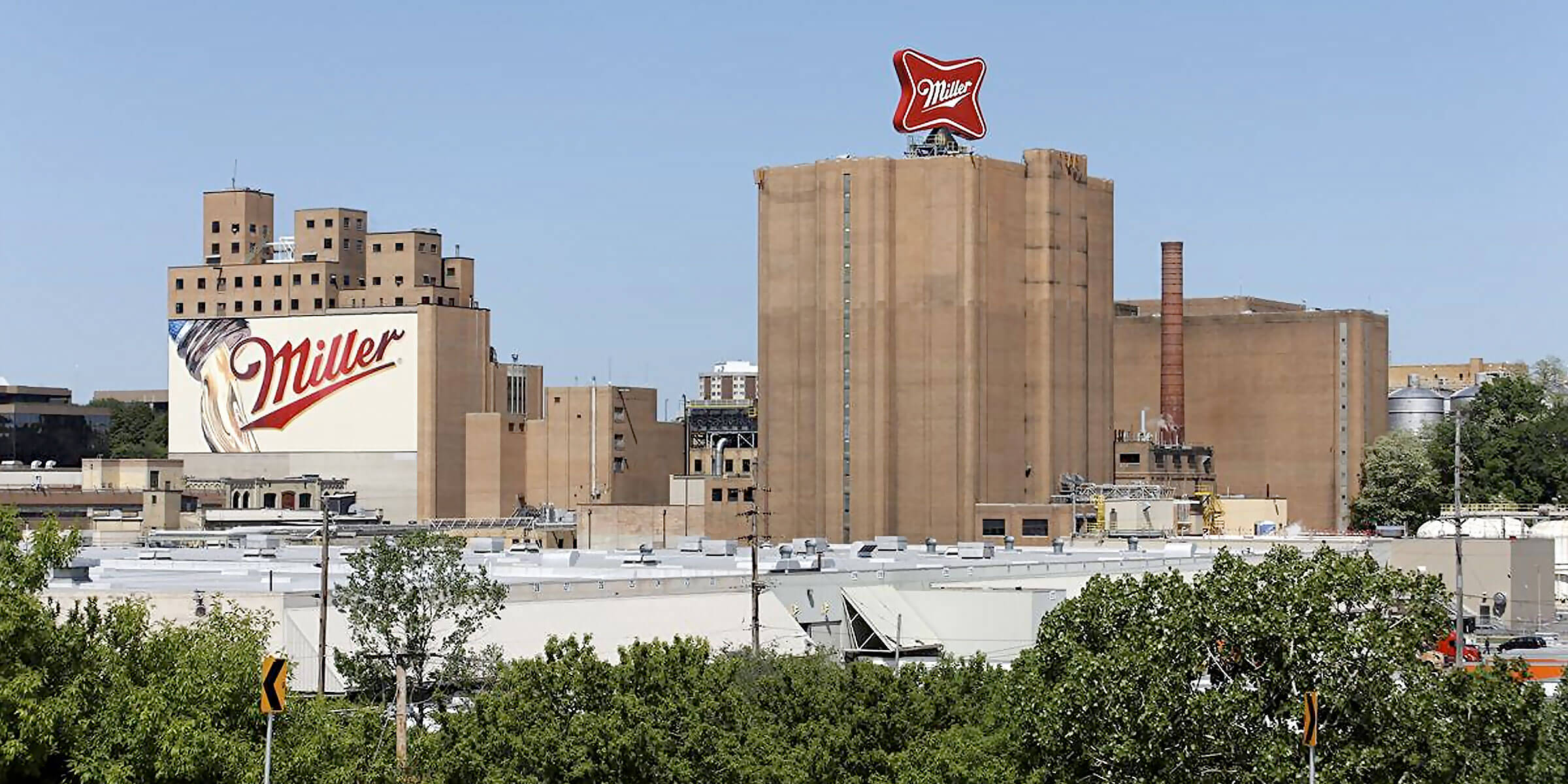 The headquarters and production facility for Miller Brewing Company, part of Molson Coors Beverage Company, in Milwaukee, Wisconsin