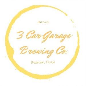 3 Car Garage Brewing Logo