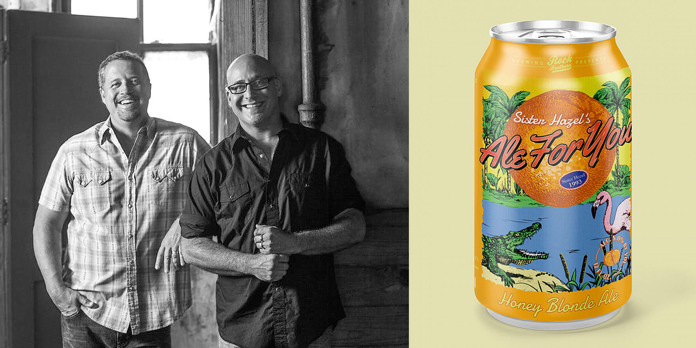 Platinum-selling alt-rock band Sister Hazel and Rock Brothers Brewing out of Tampa, Florida, have collaborated to bring that perfect Ale for You!